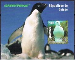 K 131 REP DE GUINEE  XX  YVERT NRS BLOK 131 ZIE SCAN - Pingouins & Manchots