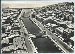 Sète-En Avion Au-Dessus De...Vieux Canal-Les Quais-(CPSM) - Sete (Cette)