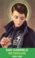 Teramo - Santino SAN GABRIELE DELL'ADDOLORATA, Santuario - PERFETTO M56 - Religione & Esoterismo