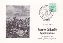 Thème Napoléon - Carte/document - Oblitération Spéciale - Napoleon