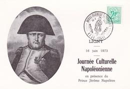 Thème Napoléon - Carte/document - Oblitération Spéciale - Napoléon