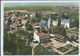 Colombier-Saugnieu-En Avion Au-Dessus De...Vue Panoramique (Légère Corne D'angle Haut à Gauche,voir Scan)-(CPSM) - Sonstige Gemeinden