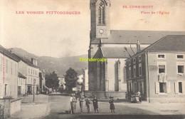 CPA 88 LES VOSGES PITTORESQUES CORNIMONT PLACE DE L'EGLISE - France