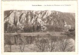 YVOIR -sur- MEUSE   ----  Les Rochers De Waremme Et De Champalle - Yvoir