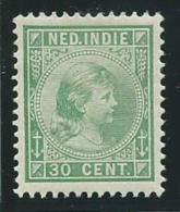 INDE NEERLANDAISE: *, N°28, TB - India Holandeses
