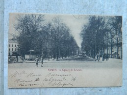 NAMUR LE SQUARE DE LA GARE - Namur