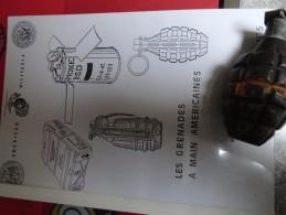 Tout Savoir Sur  Les Grenades Americaines , Ouvrage En Français, Plein De Photos Et De Schémas,118pages - Sammlerwaffen