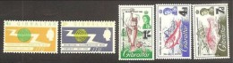 1965 / 1966 Gibilterra Gibraltar 2 SERIE: 165/66+175/77 MNH** - Gibilterra