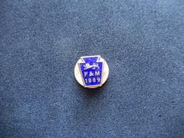 Pin´s F & M 1889 (Smaltato) - P129 - Pin's
