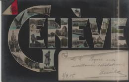 Geneve - Genf - Lettres - Mehrbilder Karte - GE Genève