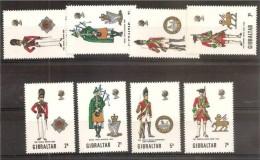 1970 Gibilterra Gibraltar UNIFORMI II - UNIFORMS II 2 Serie: 232/35 MNH** - Gibilterra