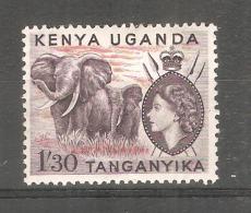 Sello Nº 97 Kenia Uganga - Elefantes
