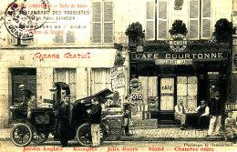 Z Z  878 /  C P A  LISIEUX  (14)   CAFE RESTAURANT DES TOURISTES 27 RUE DE PARIS - Lisieux