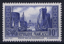 France:  Yvert Nr 261 1930 MH/*  Charniere Falz - Ungebraucht