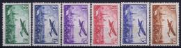 France:  Yvert Nr  AE 8 - 13  MH/*  Charniere Falz - Airmail