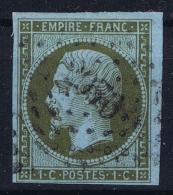 France:  Yvert  11 Obl Used - 1853-1860 Napoleon III
