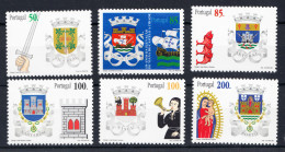PORTUGAL.1998 .BRASÔES DISTRITOS DE PORTUGAL  .AFINSA Nº 2517/2522 .NUEVO SIN CHARNELA .SES1006 - 1910-... República