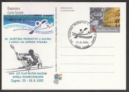 Croatia Zagreb 2005, 34th ICF Flath Water Racing World Championships, Kayak, Canoe / Rowing - Canoë