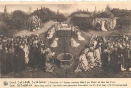 BELGIQUE - BELGIE - FLANDRE ORIENTALE - GAND - GENT - Cathédrale Saint Bavon - Adoration De L'agneau - Gent