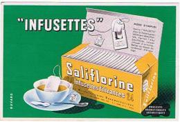 BUVARD  SALIFLORINE INFUSETTES  ****   A   SAISIR **** - Droguerías
