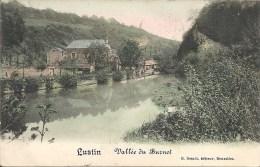 LUSTIN : Vallée Du Burnot - RARE COLORISEE - Cachet De La Poste 1912 - Profondeville