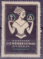 Deutsches Reich 1923 Gewerbeschau München - Germany