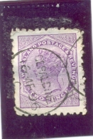 1882 NOUVELLE ZELANDE Y & T N° 61 ( O ) - 1855-1907 Crown Colony