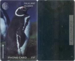 Telefonkarte Falkland - Pinguin - 6CWFA