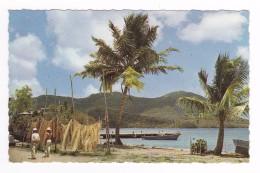 Martinique N°20 Anse à L´Ane L´heure Du Bain Photo Félix Rose Rosette VOIR DOS Belle Flamme Valise Ile Aux Fleurs - Martinique