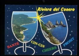 Q827 RIVERA DEL COLONERO - ILLUSTRATA, ILLUSTRATED, ILLUSTRè - MARCHE, ITALIA - ED. PLURIGRAF TERNI 253 - Italia