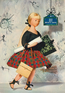 CPSM GRAND FORMAT-LES POUPEES DE PEYNET(beaux-arts)-1963-neuve- - Peynet