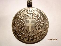 Eritrea: Tallero 1918 Avec Une Boucle De Bijouterie / Loop (argent) - Eritrea