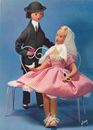 CPSM GRAND FORMAT-LES POUPEES DE PEYNET-1962-neuve- - Peynet