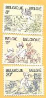 1021 ~ 1983 ~~ BELGIQUE -  N°  2086 / 88**  Neufs - Belgique
