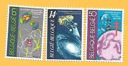 1027 ~ 1982 ~~ BELGIQUE -  N°  2036 / 38**  Neufs - Belgique