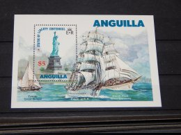 Anguilla - 1985 Statue Of Liberty Block MNH__(TH-14837) - Anguilla (1968-...)