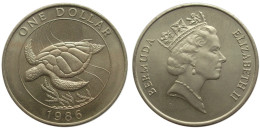 1 Dollar 1986 (Bermuda) - Bermudes