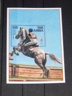 Gambia - 1995 Atlanta Block (2) MNH__(TH-14642) - Gambia (1965-...)