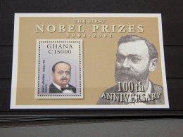 Ghana - 2002 Nobel Block (1) MNH__(TH-15538) - Ghana (1957-...)