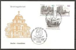 Berlin 1978 // Michel 578/580 // FDC - FDC: Sobres