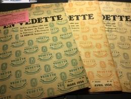 1934 - Horloges Carillon VEDETTE - Lot De 3 Bulletins Pour Les Professionnels Dont Un Catalogue - Horloges
