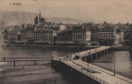 Geneve - Genf - Pont Des Bergues Im Umbau - GE Genf