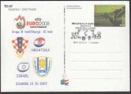 Croatia Zagreb 2007, UEFA EURO 2008, Qualifying Round Group E, Croatia - Israel - Europei Di Calcio (UEFA)