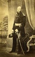 Famille Royale Britannique Prince George Duke Of Cambridge Ancienne Photo CDV 1865 - Photographs
