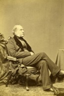 Royaume Uni Glasgow Historien Sir Archibald Alison Ancienne Photo CDV White 1865 - Photographs