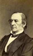 Royaume Uni Londres Politicien William Gladstone Ancienne Photo CDV Downey 1867 - Ancianas (antes De 1900)