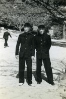 Japon Shimonoseki Vie Etudiante Japonais Ancienne Photo Snapshot Amateur 1958 - Anonymous Persons