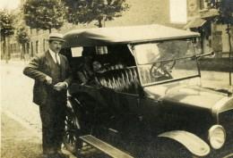 France Lille Famille Et La Belle Auto Ancienne Photo Snapshot Amateur 1920's