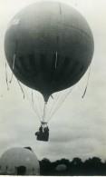 France Fives Lille Fêtes Aerostation Ballon Ancienne Photo Snapshot Amateur 1935 - Aviation
