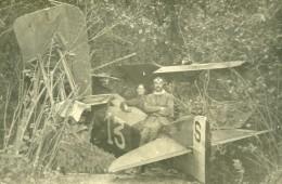 Syrie Sous Mandat Français Aviation Militaire Avion Accident Ancienne Photo Snapshot 1930 - Aviation